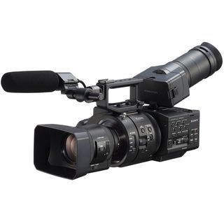 Sony NEX-FS700R Super 35 Camcorder with 18-200mm f/3.5-6.3 PZ OSS Lens|https://ak1.ostkcdn.com/images/products/8649249/Sony-NEX-FS700R-Super-35-Camcorder-with-18-200mm-f-3.5-6.3-PZ-OSS-Lens-P15910143.jpg?impolicy=medium