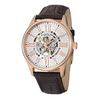 Stuhrling Original Men's Atrium Automatic Strap Watch
