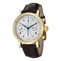 Stuhrling Original Men's Prominent Swiss Made Automatic Strap Watch