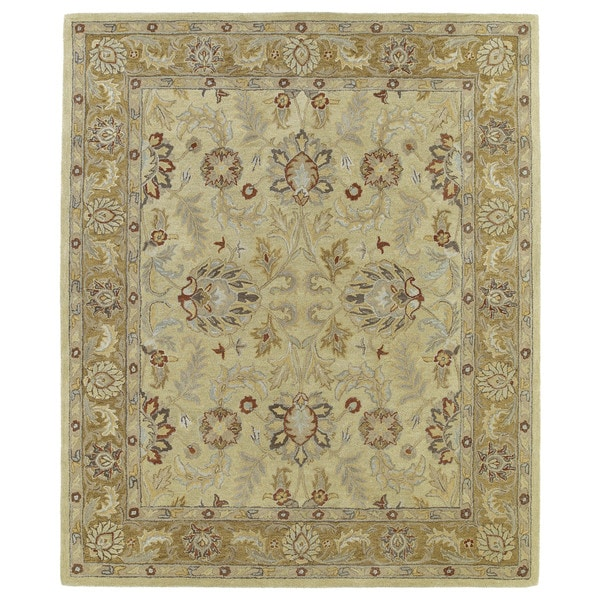 Hand-Tufted Joaquin Camel Agra Wool Rug (10' x 14')