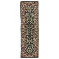 Hand-Tufted Joaquin Black Kashan Wool Rug (2'6 x 8')