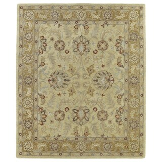 Hand-Tufted Joaquin Camel Agra Wool Rug (5' x 7'9)