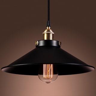 Kim Adjustable Height 1-light Edison Lamp  with Bulb