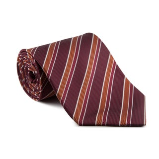Platinum Ties Men's 'Burgundy Safari' Necktie