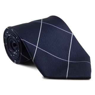 Platinum Ties Men's 'Blue Metro' Necktie