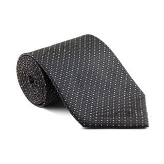 Platinum Ties Men's 'Charcoal Mix' Necktie