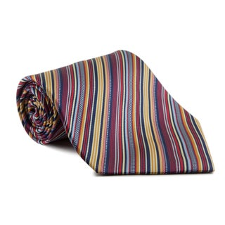 Phatties Men's 'Technicolor Shag' 5-inch Wide Necktie