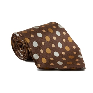 Phatties Men's 'Chocolate Suite' 5-inch Wide Necktie