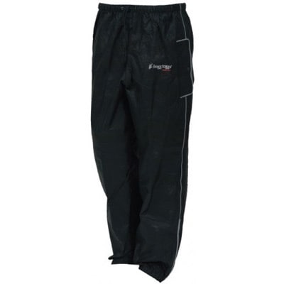 Frogg Toggs Road Toad Black Pants