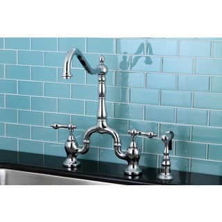 Double Handle Kitchen Faucets For Less Overstock