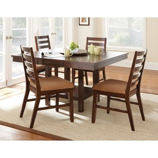 greyson living emery with lazy susan dining table set - Dining Table With Chairs