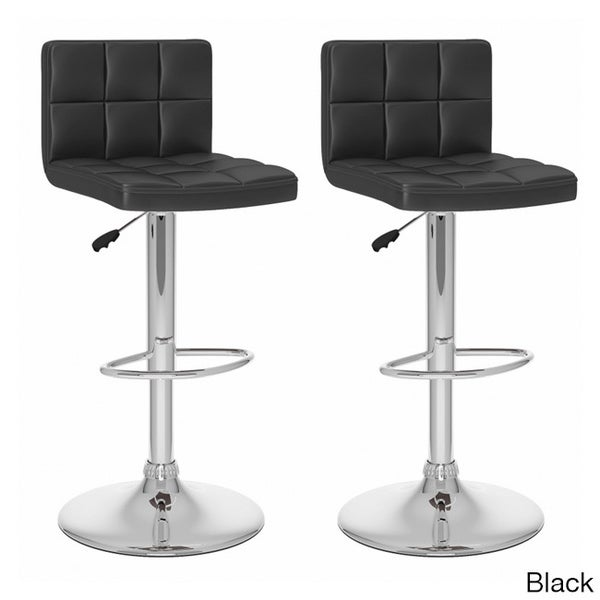 CorLiving Square Leatherette Adjustable Barstools Set of  : B 407 UPD High Back Adj Bar Stool in Black pair CorLiving B 4X7 UPD High Back Leatherette Adjustable Bar Stools Set of 2 12afcbfd 9192 4a9c bc55 396c8b9e85e2600 from www.overstock.com size 600 x 600 jpeg 17kB