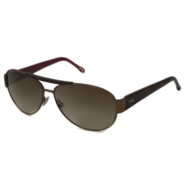 Fossil Women's Jennifer Aviator Sunglasses - Brown/Tortoise
