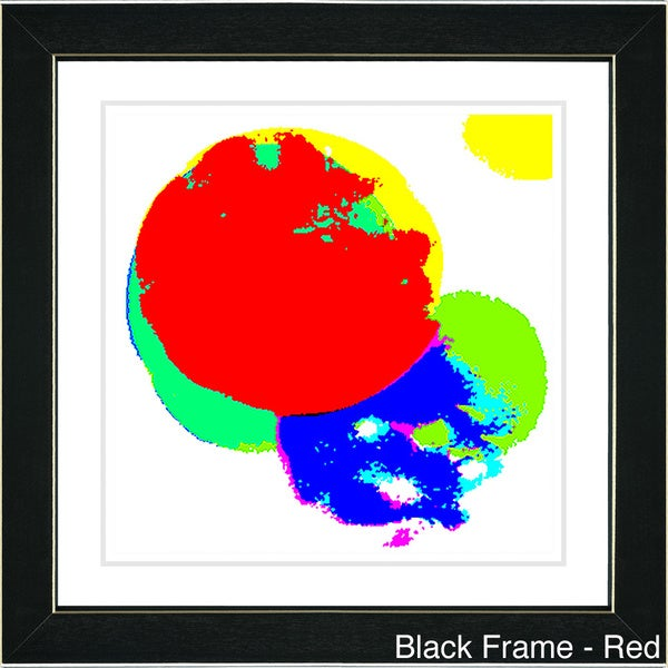 Studio Works Modern 'Solar Flair' Framed Art Print
