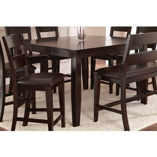 Vaughn Espresso 54 Inch Square Counter Height Table By Greyson Living