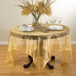 Crushed Tissue Table Topper or Tablecloth (More options available)