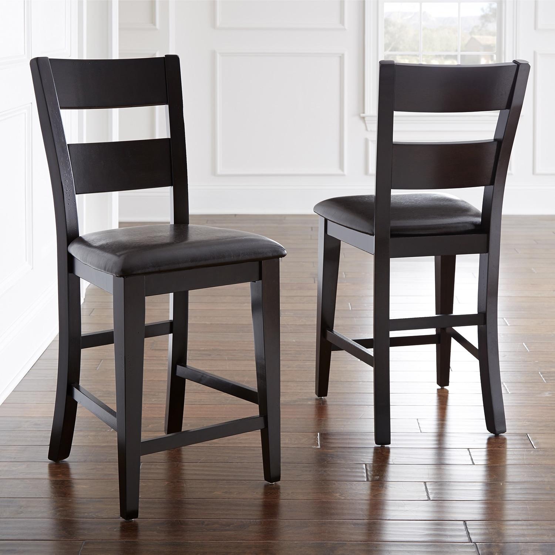 Shop Oliver Amp James Leon Espresso 24 Inch Chair Set Set