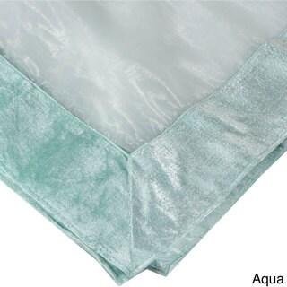 Beau Sheer Velvet Trimmed Table Linens