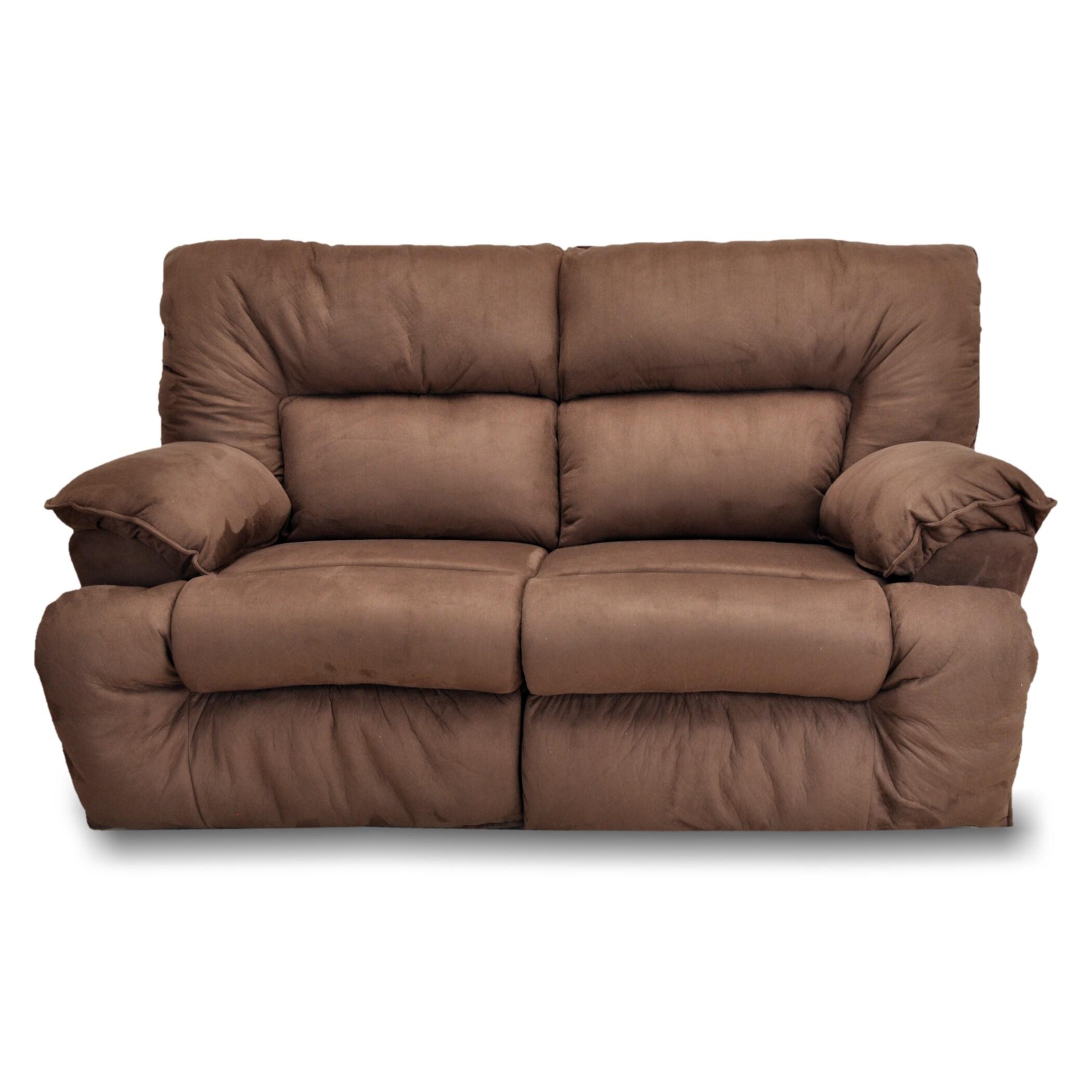 Pleasing Franklin Tristin Mink Microfiber Dual Reclining Sofa And Loveseat Set Cjindustries Chair Design For Home Cjindustriesco