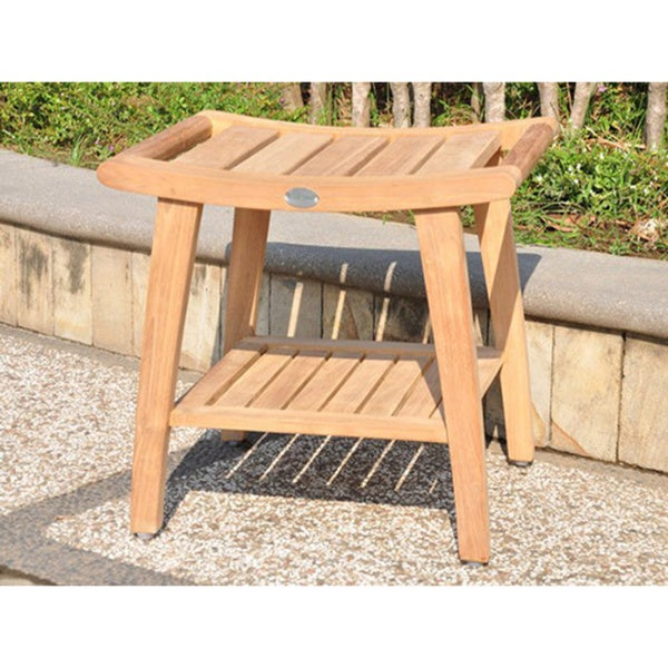 classic teak shower bench - Teak Shower Bench