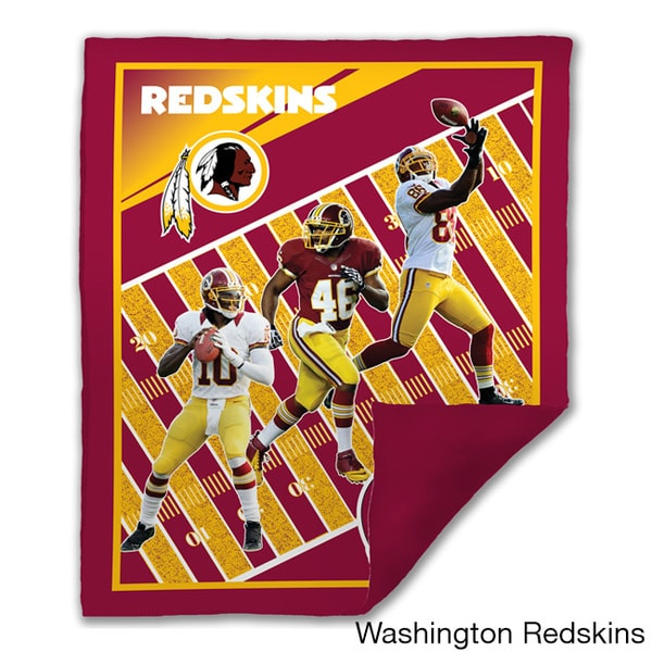 NFL Biggshots NFC Marque Snuggle Cover Overlay Throw