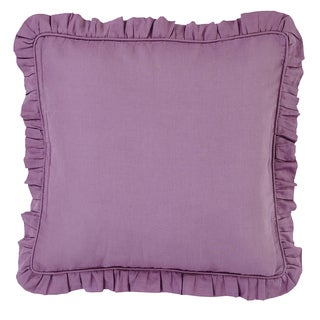 Brookfield Purple Linen Euro Sham