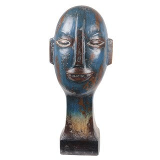 Privilege Tall Ceramic Head Sculpture