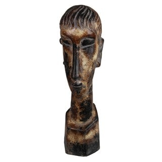 Privilege Large Ceramic Head Sculpture