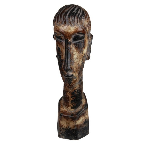 Privilege Large Ceramic Head Sculpture