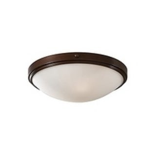 Feiss Perry 2 - Light Indoor Flush Mount, Heritage Bronze