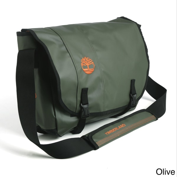 Shop Timberland Messenger Canon Mountain Messenger Bag Free Shipping Today Overstock 8650289