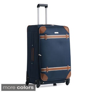 Anne Klein Vintage Edition 28-inch Large Spinner Upright Suitcase