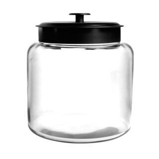 Montana 1.5-gallon Jar with Black Lid