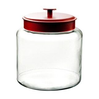 1.5-gallon Montana Jar with Red Cover