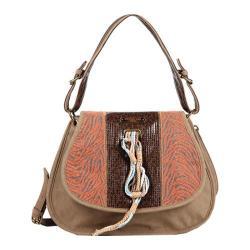 Women's Nicole Lee Naomi Neutral Works Messenger Bag Orange
