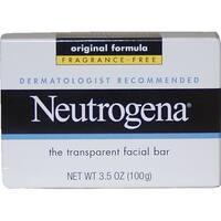 Neutrogena The Transparent Facial Bar 3.5-ounce Soap