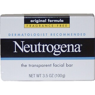 Neutrogena The Transparent Facial Bar 3.5-ounce Soap