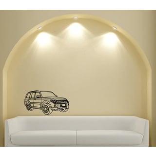 Mitsubishi SUV Wall Art Vinyl Decal Sticker