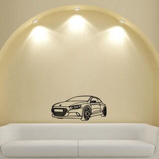 Car Style Wall Art Vinyl Decal Mural Sticker