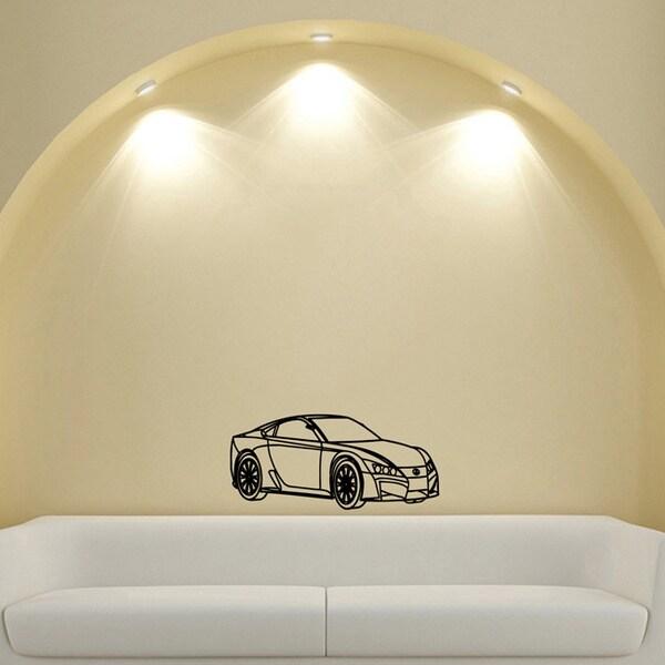 Lexus Style Coupe Car Wall Art Vinyl Decal Sticker Free Shipping - Lexus custom vinyl decals for car