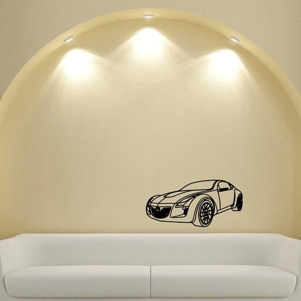 Mazda Sports Car Wall Art Vinyl Decal Sticker