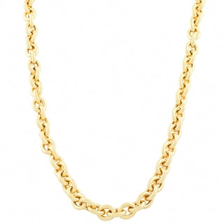 Fremada 14k Yellow Gold 7 4 Mm Rolo Necklace 18 Inch
