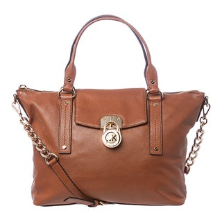 MICHAEL Michael Kors 'Hamilton' Medium Luggage Slouchy Satchel
