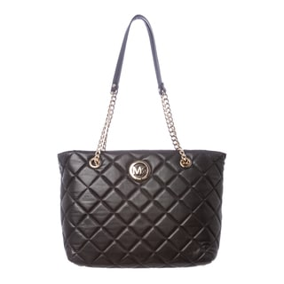MICHAEL Michael Kors 30H3GFQT3L 001 Large Quilted Fulton East West Tote