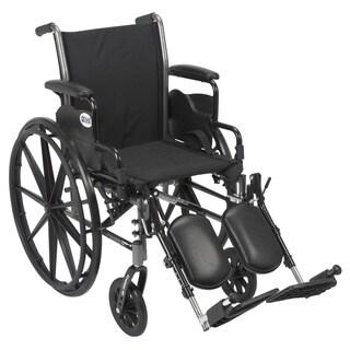 Cruiser III Lightweight Flip-back Removable Arm Wheelchair
