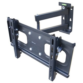 Mount-It! MI-398 Heavy Duty, 88 lb Capacity, Black, Universal Full Motion TV Wall Mount for up to 55-inch Screens