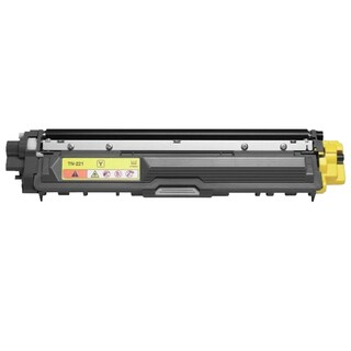 Brother TN225C Remanufactured High Yield Compatible Yellow Toner Cartridge