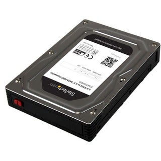 "StarTech.com 2.5"" to 3.5"" SATA Aluminum Hard Drive Adapter Enclosure"
