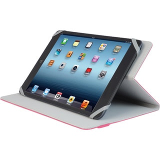 "V7 Slim TUC20-8-RED-14N Carrying Case (Folio) for 8"" iPad mini, Table"