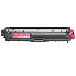 Brother TN221M Remanufactured Compatible Magenta Toner Cartridge